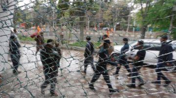 Imagen de archivo de un ataque en Kabul
