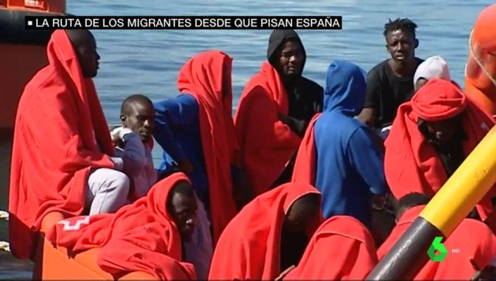 ruta migrantes