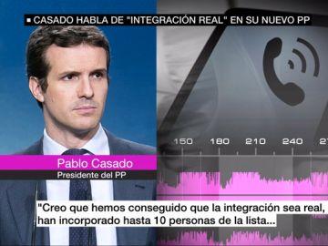 Audios de Pablo Casado en el Comité Nacional del PP