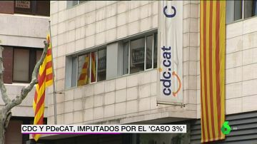 CDC y PDeCAT, imputados por el caso 3%