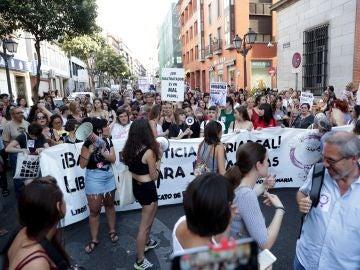 Manifestación en apoyo a Juana Rivas