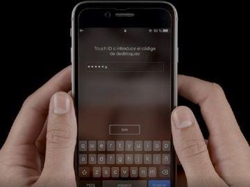 Contraseña de iPhone con letras o símbolos