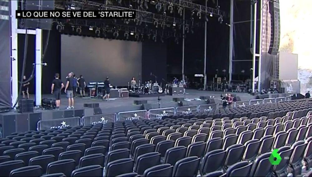 El equipo de seguridad del festival 'Starlite', compuesto por 50 personas