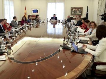 Reunión del Consejo de Ministros en Moncloa