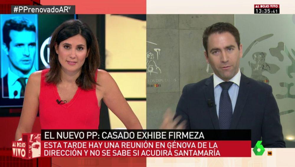 Teodoro García, secretario general del PP