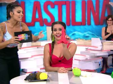 """""""Siempre montáis una muy fuerte"""": la advertencia de Lorena Castell a Anna Simon y Cristina Pedroche en el juego de la semana"""