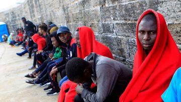 Migrantes en Cádiz (Archivo)