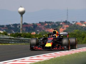 Daniel Ricciardo, en su Red Bull