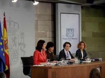 Rueda de prensa posterior el Consejo de Ministros