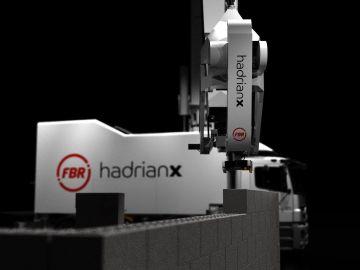 Cada robot Hadrian X podría construir entre 100 y 300 casas al año.