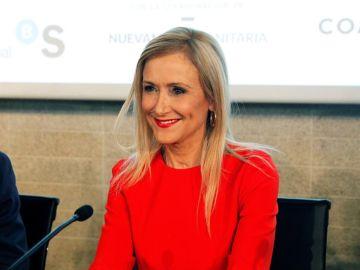 En la imagen la expresidenta madrileña Cristina Cifuentes