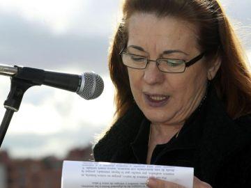 La expresidenta de la Asociación 11M Pilar Manjón