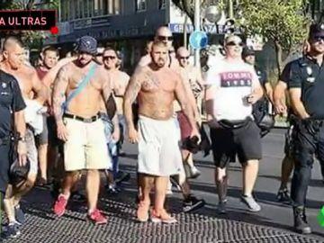 Los ultras vuelven a la carga: incidentes entre radicales del Sevilla y del Ujpest