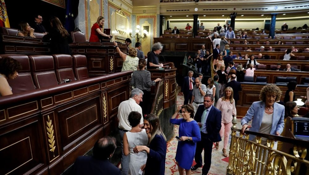 Segunda votación en el Congreso sobre Rosa María Mateo
