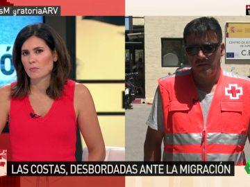 """Clemen Núñez, sobre el salto de la valla de Ceuta: """"Es uno de los más violentos que recordamos. Nunca entran grupos tan numerosos"""""""