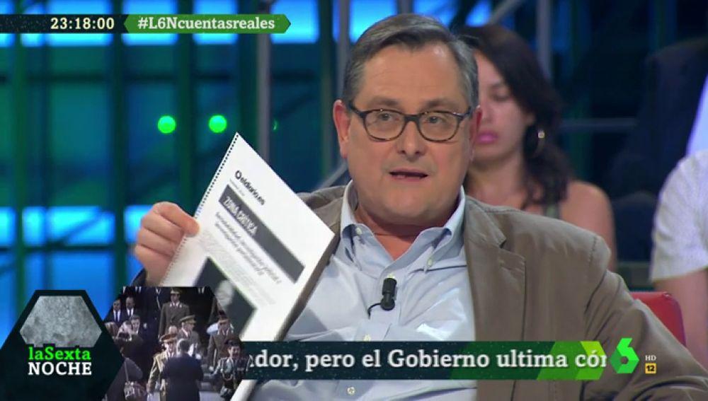 """Francisco Marhuenda: """"Franco y cargaros la monarquía os pone cachondos"""""""