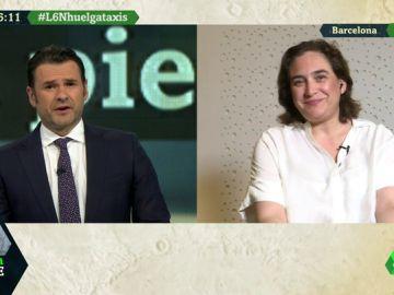 """Ada Colau, sobre la huelga de taxistas: """"Esto pasa por la liberalización que permite un intrusismo sin pagar impuestos"""""""