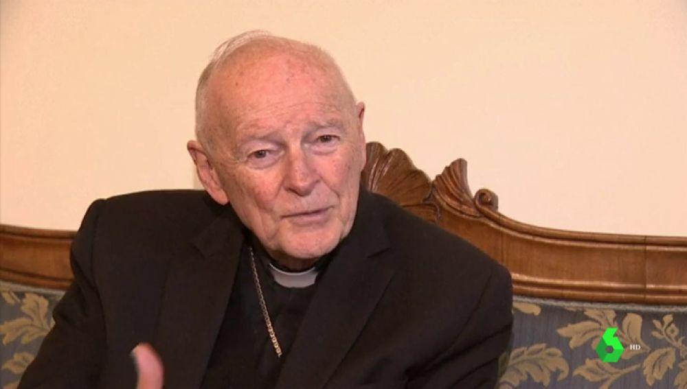 McCarrick, el cardenal emérito de Washington