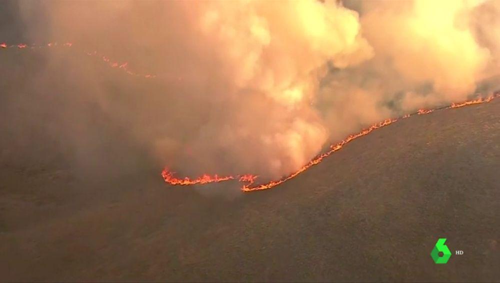 Los incendios continúan devastando el oeste de Estados Unidos