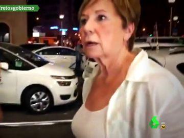 """""""¿Cómo coño llego yo a Torremolinos?"""": Celia Villalobos, otra de las personas afectadas por la huelga de taxis"""