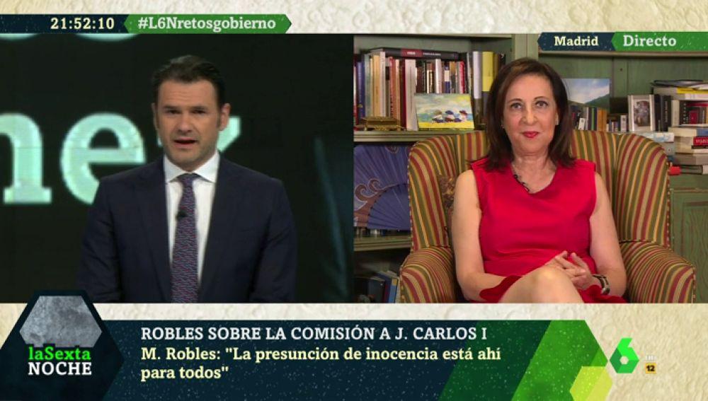 """Margarita Robles, sobre la condena a Juana Rivas: """"Los jueces se tienen que limitar a argumentar, no a descalificar"""""""