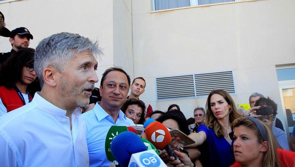 El ministro del Interior, Fernando Grande Marlaska