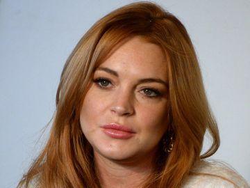 La actriz Lindsay Lohan