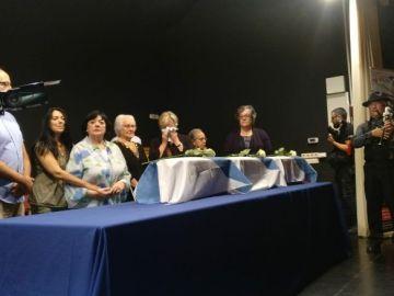 Manuela Teiga, Vicente Peña Tarrasa, Manuel Pena Camino y José María Castelo Mosquera hoy han vuelto con sus familias