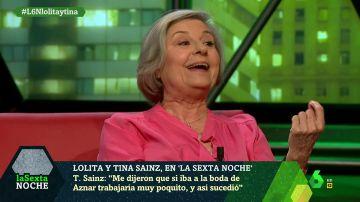 """Tina Sáinz: """"Me dijeron que si iba a la boda de Aznar trabjaaría muy poquito, y así sucedió"""""""