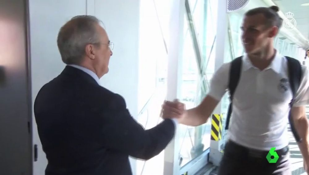 LA SEXTA TV | Florentino Pérez da cariño a la plantilla del Real ...