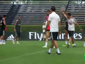 Real Madrid suspende entrenamientos