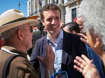 El presidente del Partido Popular, Pablo Casado