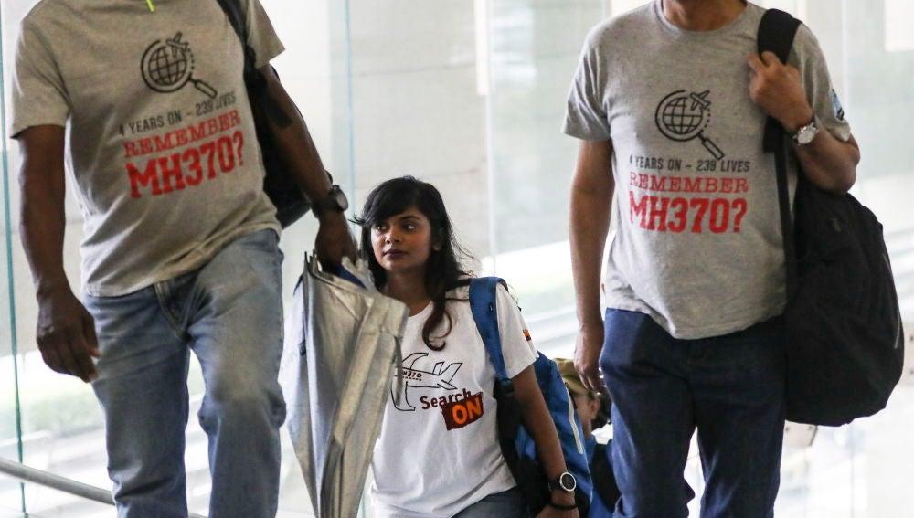 Desparecidos en el Boeing MH370 de malasia