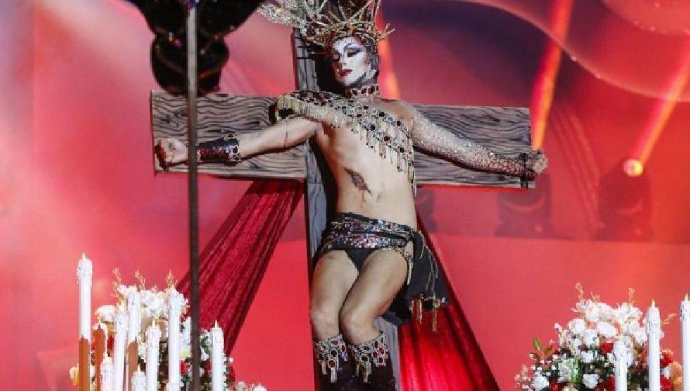 En la imagen una de las actuaciones de los Carnavales