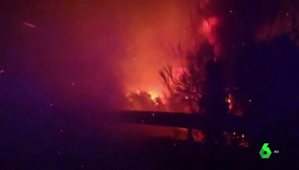 Incendio en Manilva, Málaga
