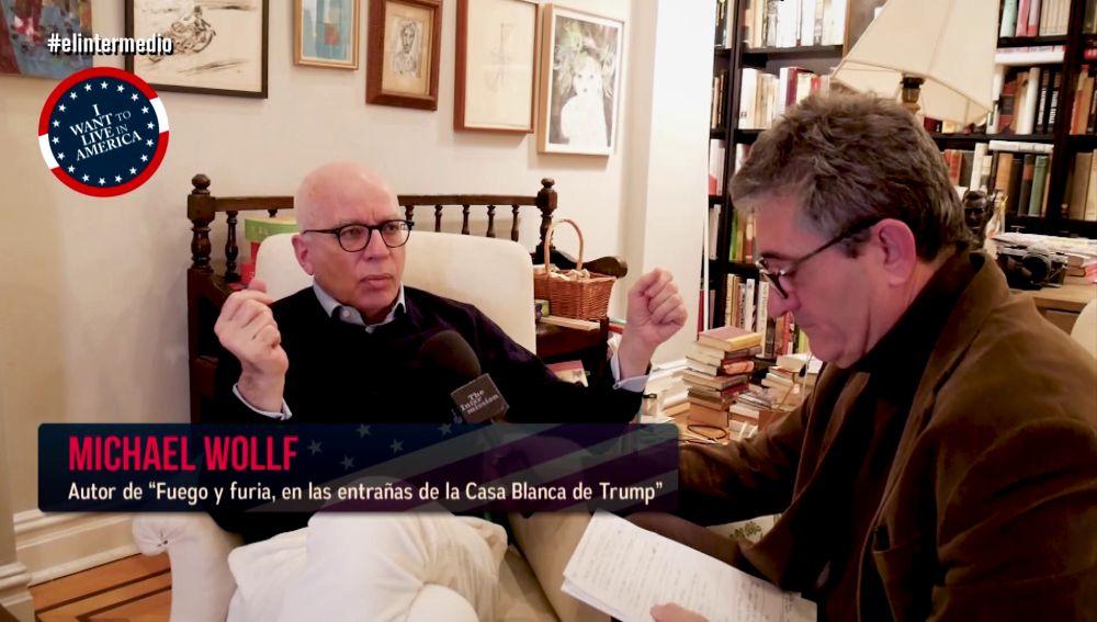 Guillermo Fesser entrevista a Michael Wolff en El Intermedio
