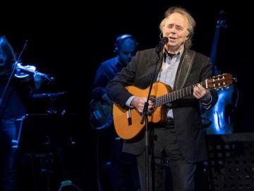 El cantautor Joan Manuel Serrat