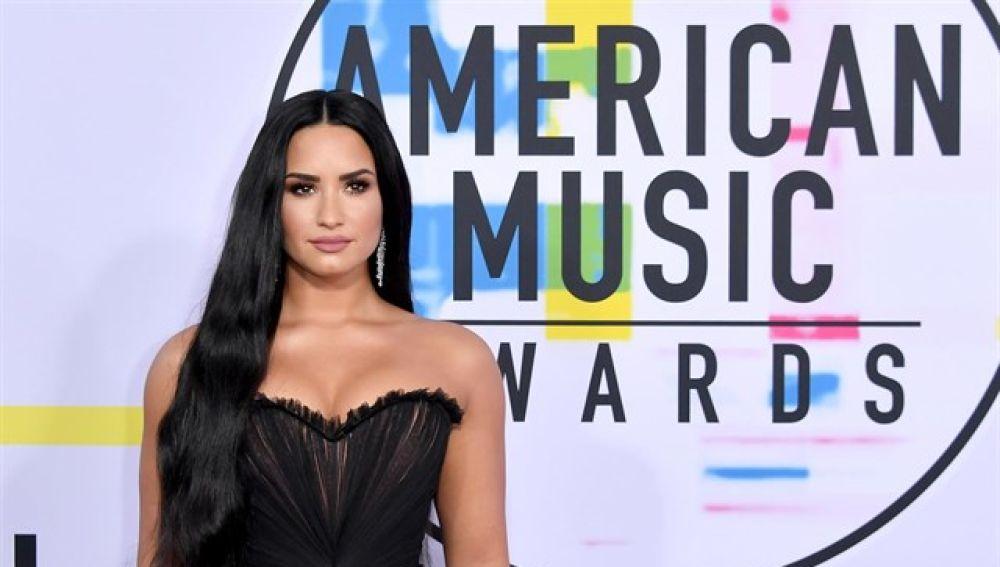 En la imagen la cantante Demi Lovato