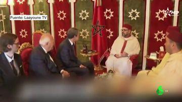 Visita del ex presidente Zapatero a Marruecos