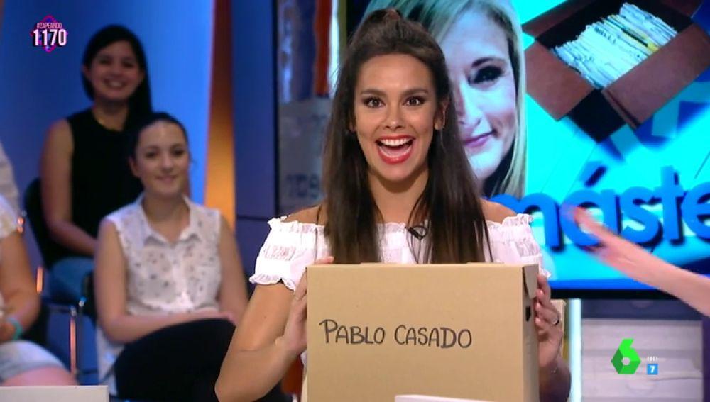 la caja de Pablo Casado