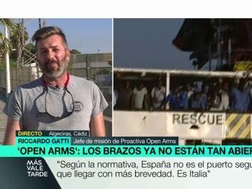 """Riccardo Gatti, sobre el último rescate de Open Arms: """"Tenían miedo de que fuéramos libios. Preferían morir antes que ser devueltos"""""""