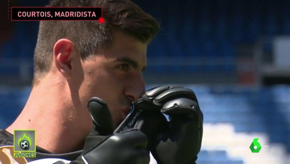 Courtois Madridista-sueño