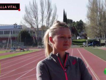 """La historia de superación de Julia Takacs: """"Ahora pienso en la medalla; antes, sólo en salvar la vida"""""""