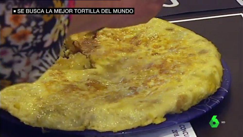 Buscan la mejor tortilla de patatas en Donostia