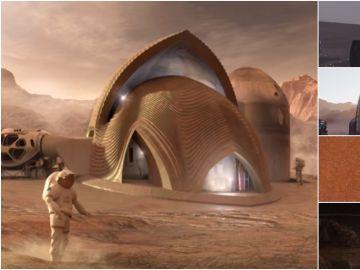 Las cinco posibles casa de Marte