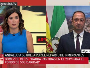 El delegado del Gobierno en Andalucía en ARV.