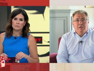 Juan Ignacio Zoido, exministro del Interior, en Al Rojo Vivo.