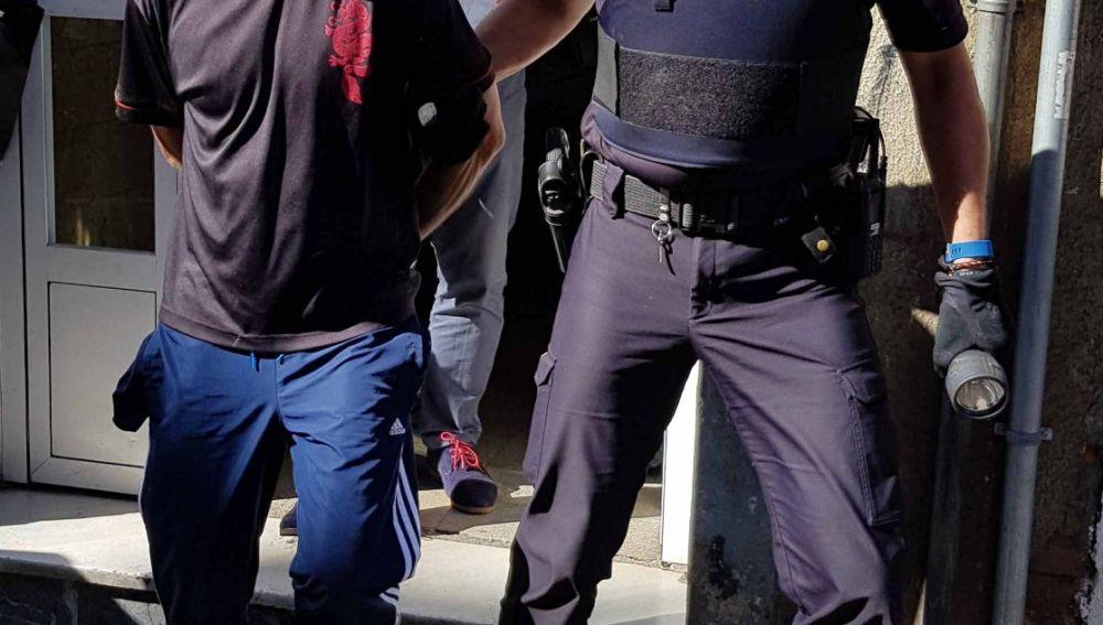 El preso Santiago Izquierdo Trancho, detenido