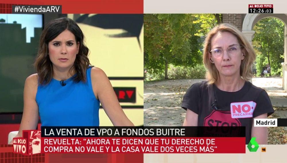 """Mercedes Revuelta: """"Muchas familias se están viendo en la calle porque su vivienda ya no es de protección oficial"""""""
