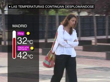 Gran desplome en el termómetro: caen las temperaturas hasta 13 grados y ocho provincias están en riesgo por tormentas